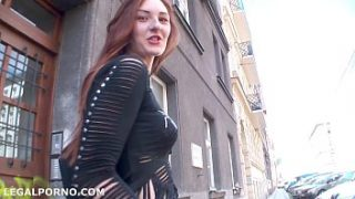 Ariadna is back for balls deep ass fucking, great gapes, deepthroat and swallow GL010