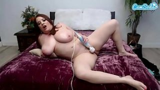 camsoda horny maggie green first time on webcam masturbation