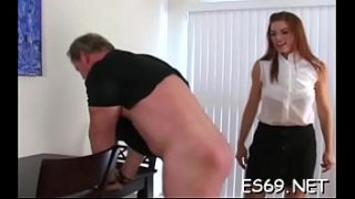 Dominant ladies and submissive sissy men are having enjoyment